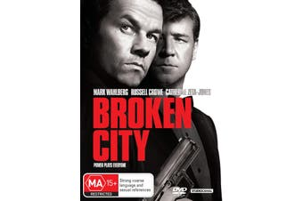 Broken City DVD Region 4