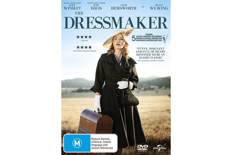 The Dressmaker DVD Region 4