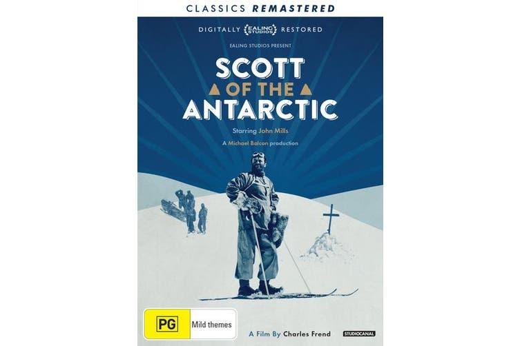 Scott of the Antarctic DVD Region 4