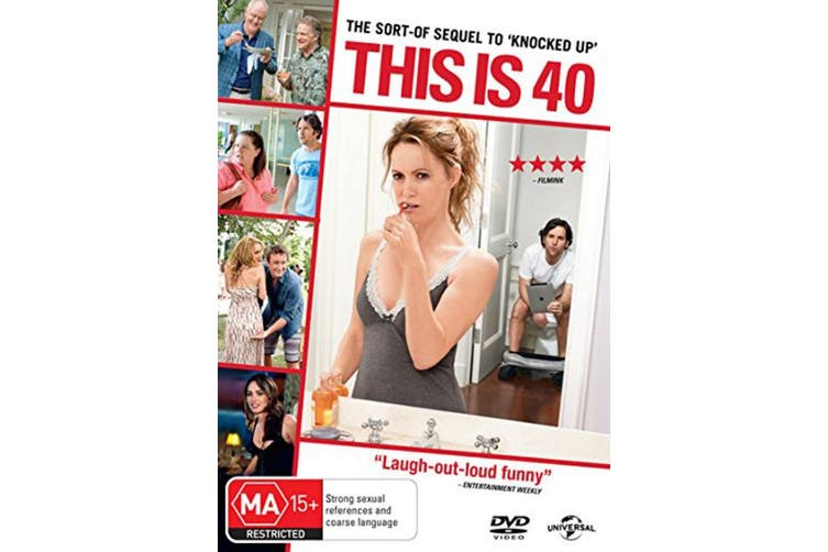 This Is 40 DVD Region 4