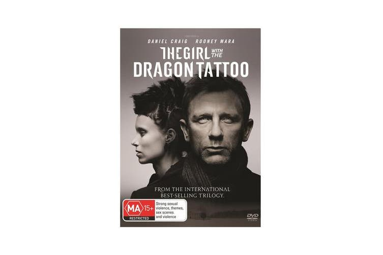 The Girl With the Dragon Tattoo DVD Region 4