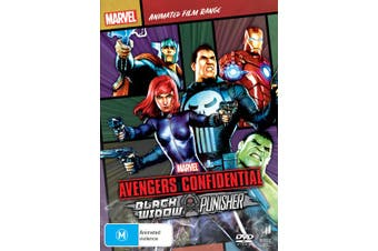 Avengers Confidential Black Widow and Punisher DVD Region 4