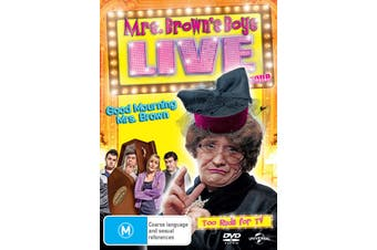 Mrs Browns Boys Good Mourning Mrs Brown Live Tour DVD Region 4