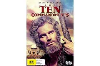 The Ten Commandments DVD Region 4