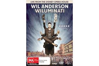 Wil Anderson Wiluminati DVD Region 4