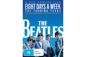 The Beatles Eight Days a Week The Touring Years DVD Region 4