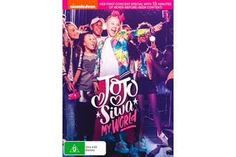Jojo Siwa My World DVD Region 4