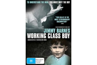 Jimmy Barnes Working Class Boy DVD Region 4
