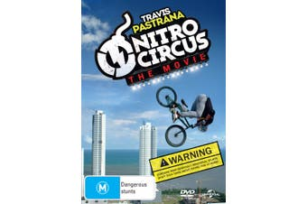 Nitro Circus The Movie DVD Region 4