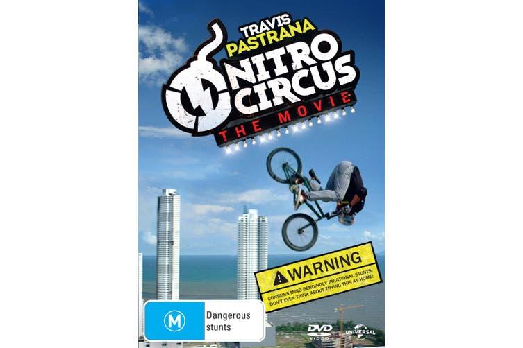Nitro Circus The Movie DVD Region 4