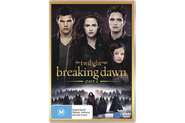 The Twilight Saga Breaking Dawn Part 2 DVD Region 4
