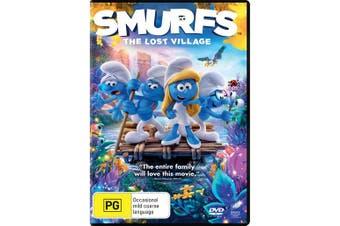 Smurfs The Lost Village DVD Region 4