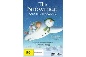 The Snowman and the Snowdog DVD Region 4