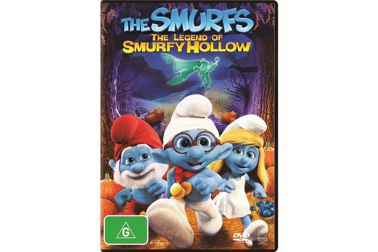 The Smurfs The Legend of Smurfy Hollow DVD Region 4