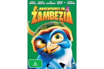Adventures in Zambezia DVD Region 4