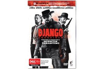 Django Unchained DVD Region 4
