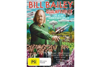 Bill Bailey Qualmpeddler DVD Region 4