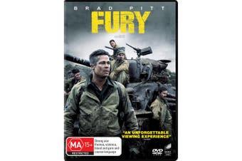 Fury DVD Region 4