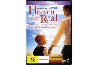 Heaven Is for Real DVD Region 4