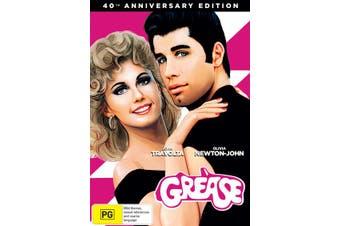 Grease 40th Anniversary Edition DVD Region 4