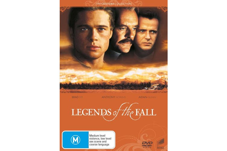 Legends of the Fall DVD Region 4