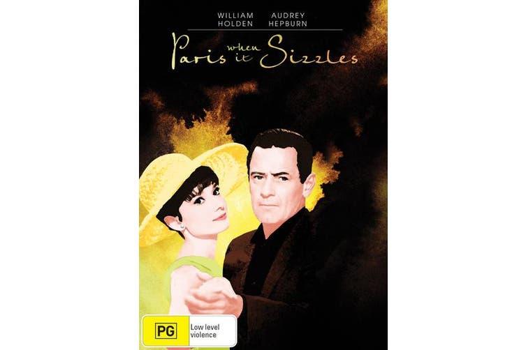 Paris When It Sizzles DVD Region 4