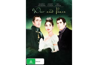 War and Peace DVD Region 4