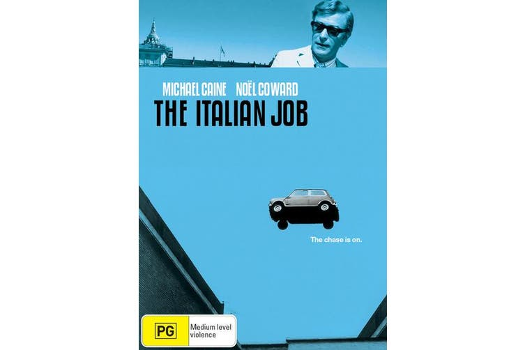 The Italian Job DVD Region 4