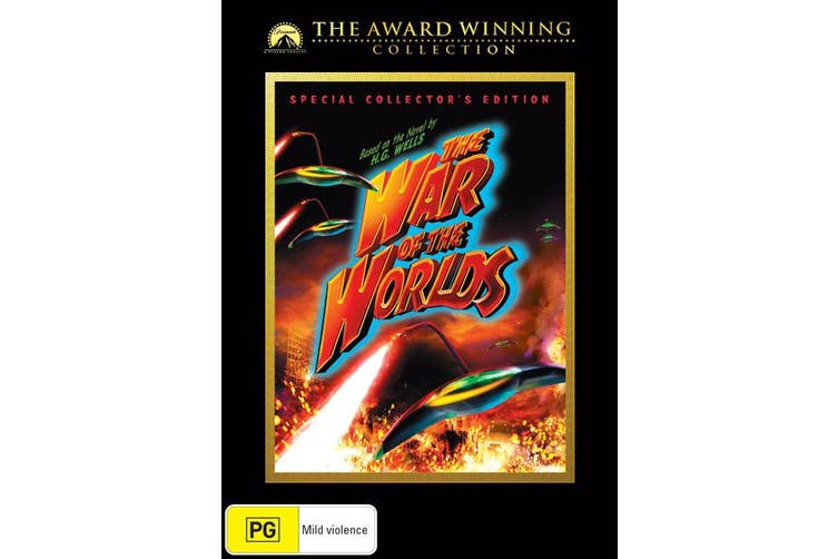 The War of the Worlds DVD Region 4