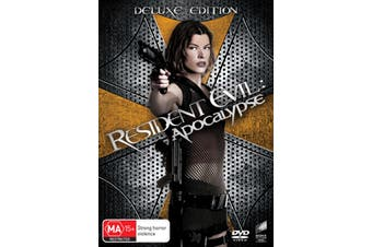 Resident Evil Apocalypse DVD Region 4