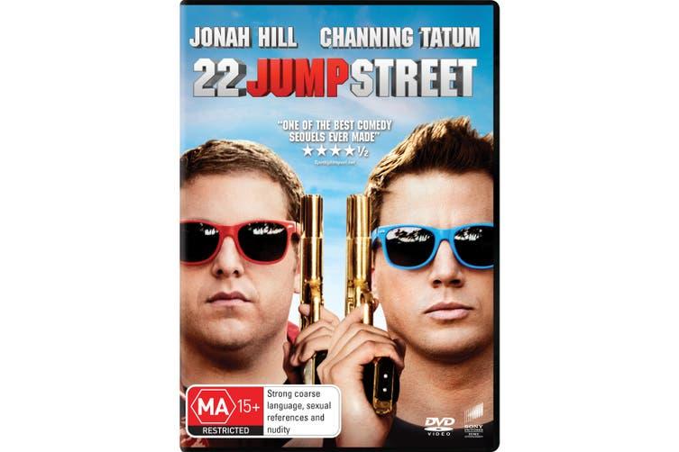 22 Jump Street DVD Region 4