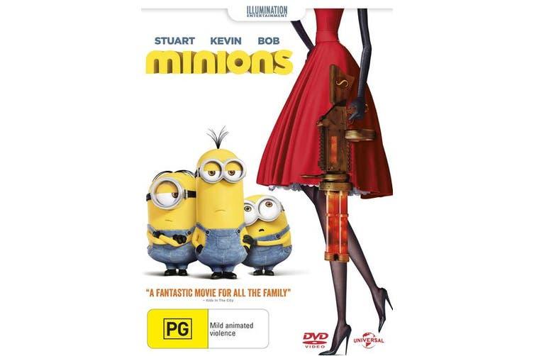 Minions DVD Region 4