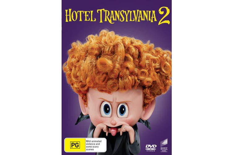 Hotel Transylvania 2 DVD Region 4