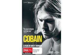 Kurt Cobain Montage of Heck DVD Region 4