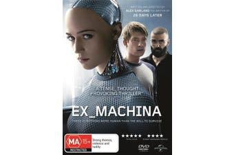 Ex Machina DVD Region 4