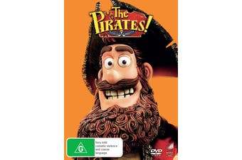 The Pirates In an Adventure With Scientists DVD Region 4