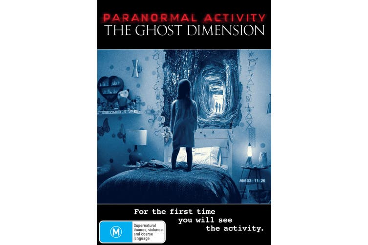 Paranormal Activity The Ghost Dimension DVD Region 4