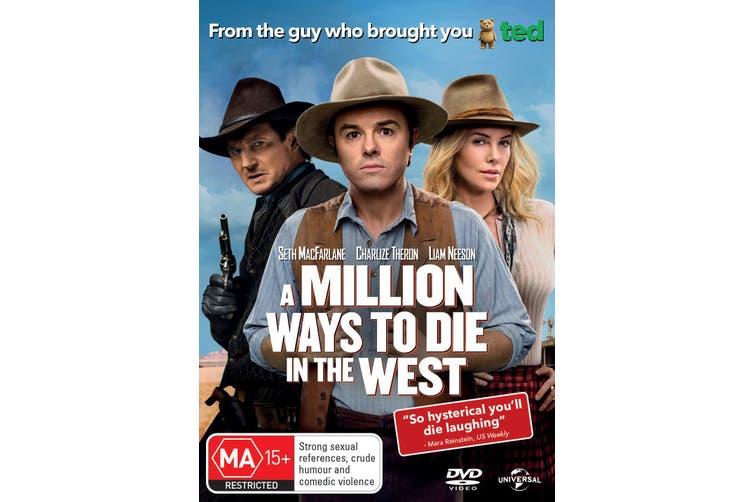 A Million Ways to Die in the West DVD Region 4