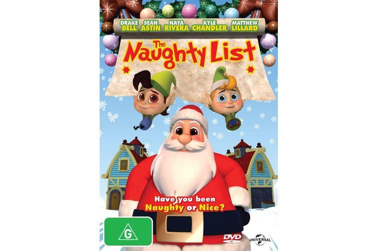 The Naughty List DVD Region 4