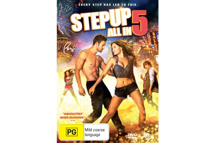 Step Up 5 All In DVD Region 4
