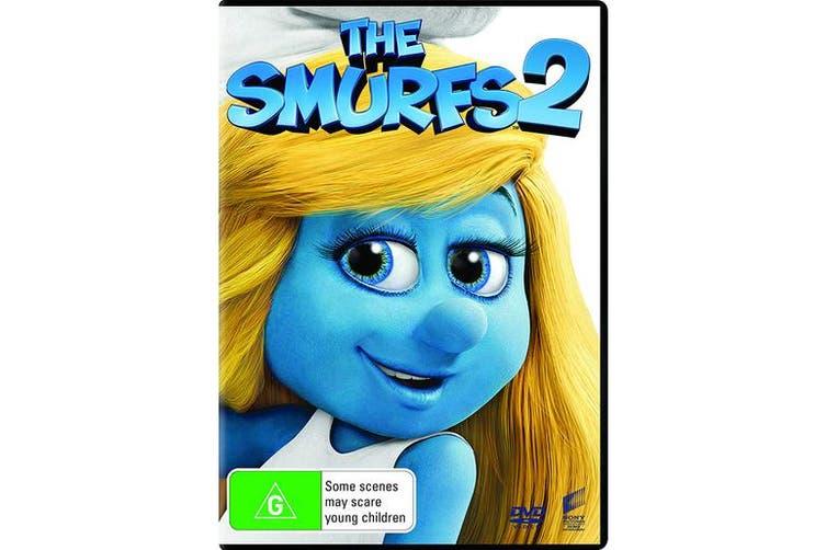 The Smurfs 2 DVD Region 4