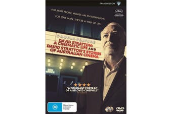 David Stratton A Cinematic Life / David Strattons Stories Of DVD Region 4