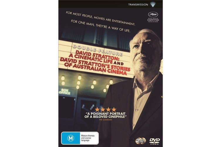 David Stratton A Cinematic Life / David Strattons Stories Of DVD Region 4