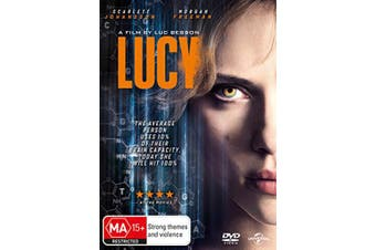 Lucy DVD Region 4