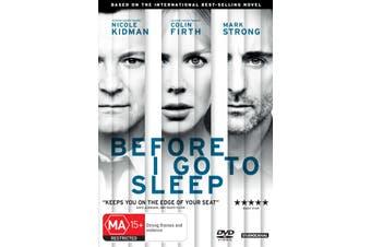 Before I Go to Sleep DVD Region 4