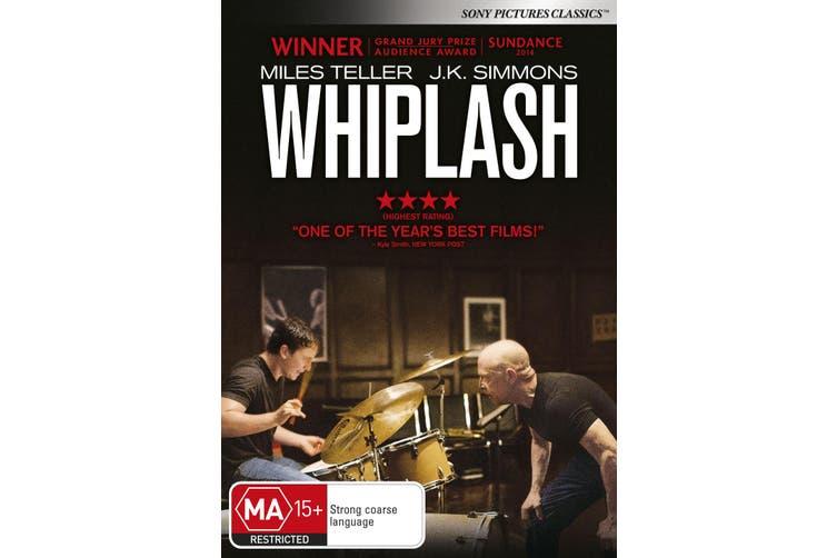 Whiplash DVD Region 4
