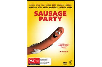 Sausage Party DVD Region 4
