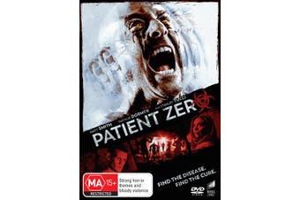 Patient Zero DVD Region 4