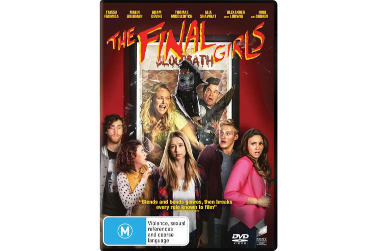 The Final Girls DVD Region 4