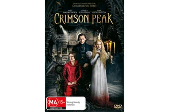 Crimson Peak DVD Region 4